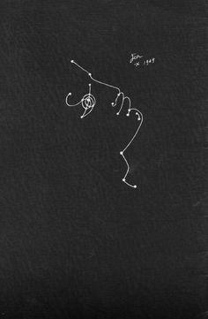 Verso de la couverture Orphée, Jean Cocteau.