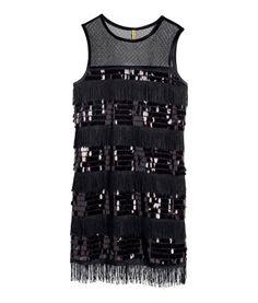 great gatsby style dress| H&M CZ