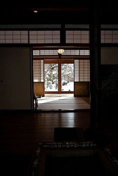 I want the option for my whole house to open up.  Hosenin-Temple, Kyoto, Japan