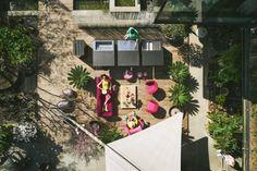 Behind the Scenes: Fotoshooting für Design De Luxe - Design Deluxe Outdoor Kitchen Design, Outdoor Lounge, Behind The Scenes, Garden Architecture, Photo Shoot