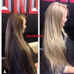 ash blonde full head foils with toner - Google Search