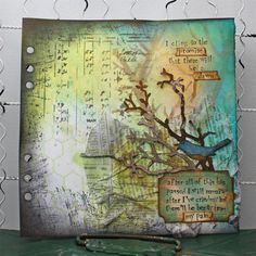 Tammy Tutterow Design using Tim Holtz dies