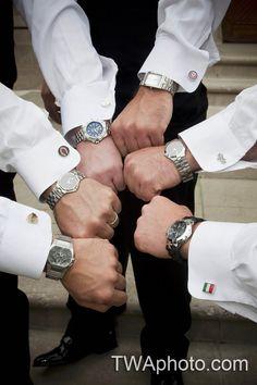 Personalized #cufflinks for your #groomsmen is a great gift!  www.twaphoto.com