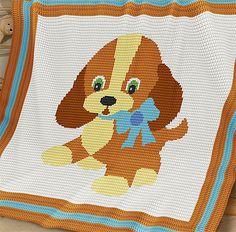 Ravelry: Baby Blanket / Afghan - Ginger pattern by Elena Balyuk Baby Afghan Crochet, Manta Crochet, Baby Afghans, Crochet Blanket Patterns, Baby Patterns, Knitting Patterns, Baby Blankets, Pixel Crochet, Double Crochet