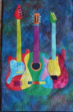 Guitar Quilt www.forjahispalense.com FOR JUSTIN