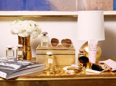 AERIN beauty essentials for effortless beauty. Inspired by the colors of summer