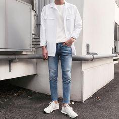Korean Fashion Men, Korean Street Fashion, Mens Fashion, Korean Outfits, Trendy Outfits, Fashion Outfits, Fasion, Boyish Style, Outfits Hombre