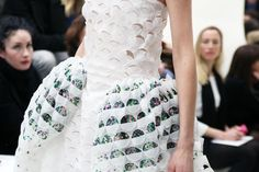 Christian Dior spring 2014 couture details