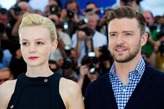 Carey Mulligan and Justin Timberlake at the 'Inside Llewyn Davis' photocall during the 66th Annual Cannes Film Festival aon May 19, 2013