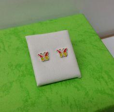 Schmetterling Ohrstecker Ohrringe 925 KO132 von myduttel auf Etsy