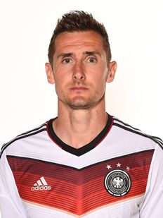 Miroslav KLOSE for 2014 FIFA World Cup