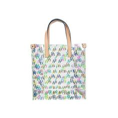 Dooney Bourke It Clear Lunch Bag Tote 70 Liked On Polyvore Featuring Bags