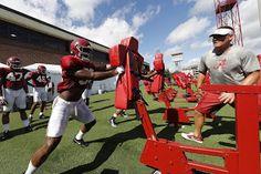 High Tide: Crimson Tide Football Practice