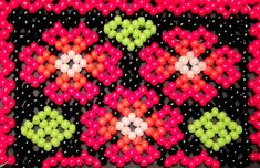 Beaded huichol (net) bracelet cuff pattern  Pattern is created for TOHO round beads, size 11/0 but you can use other beads.  Pattern stitch: netting (huichol) Pattern columns: 45 Pattern rows: 86 Bead count: 2892 Color count: 5 Measurements: 6.705cm x 19.075cm 2.63in x 7.5in    PDF-file contains total count of beads, bead graph, word chart and bead legend (with colors, producer number). The second image displayed in this listing shows you the sample of the pattern you will receive. After...
