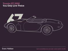 James Bond Cars Evolution