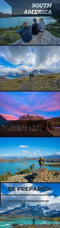 This South America Packing list helps you to prepare for your trip to Latin America from Machu Picchu down to Patagonia and saves you a lot of time!