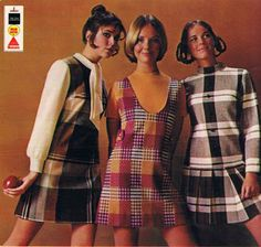 Seventeen August Colleen Corby, Cay Sanderson and Wendy Hill. Seventies Fashion, 60 Fashion, Retro Fashion, Fashion Models, Vintage Fashion, Womens Fashion, Fashion 2018, Fall Fashion, Fashion Brands