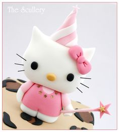 Hello Kitty cake topper | Flickr - Photo Sharing!