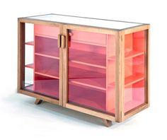 Hierve Design Consultancy . vitrina cabinet, for Case