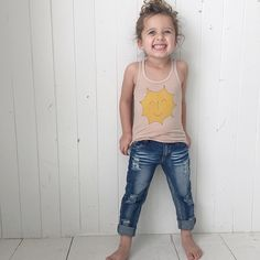 distressed ripped jeans for baby toddler kids.