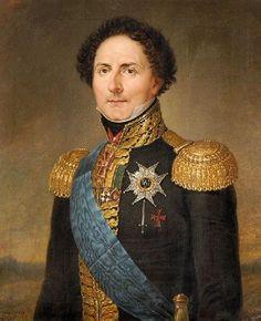Nordgren - Portrait de Charles Jean Bernadotte, roi de Suède, 1828