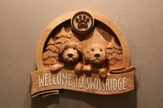 CUSTOM DOG SIGNS Carved wood signs Puppy Signs Pet Signs