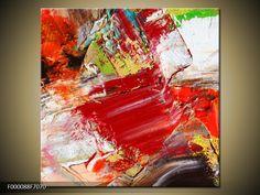 Moderní obraz F000088F7070 | Jednodílný 70x70 cm | TopObrazy.cz Artwork, Painting, Abstract, Work Of Art, Auguste Rodin Artwork, Painting Art, Artworks, Paintings, Painted Canvas