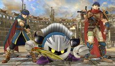 Main page for Super Smash Bros. for Nintendo 3DS / Wii U and Meta Knight. © 2014 Nintendo Original Game: © Nintendo / HAL Laboratory, Inc. Characters: © Nintendo / HAL Laboratory, Inc. / Pokémon. / Creatures Inc. / GAME FREAK inc. / SHIGESATO ITOI / APE inc. / INTELLIGENT SYSTEMS / SEGA / CAPCOM CO., LTD. / BANDAI NAMCO Games Inc. / MONOLITHSOFT / CAPCOM U.S.A., INC. / SQUARE ENIX CO., LTD.