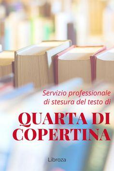 Servizio professionale di stesura della quarta di copertina - Libroza.com