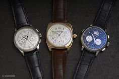 There is something special about a hand-finished, manually wound, in-house chronograph. It is a category that houses so many of the timepieces to which so many of us aspire to own – and today we will compare three of the very best available in the world today. This original HODINKEEThree On Threepits heavyweight contenders from A. Lange & Söhne, Vacheron Constantin, and Patek Philippe against one another in several categories: design, finishing, wearability, and collectibility. The thing…