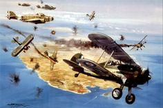 Malta - The Gloster Gladiators Faith, Hope & Charity