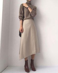 Muslim Fashion, Modest Fashion, Korean Fashion, Fashion Dresses, Classy Outfits, Pretty Outfits, Casual Outfits, Mode Ulzzang, Hijab Fashion Inspiration