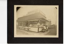 The love of food is timeless. As you can see from this picture of a hamburger stand from the 1931 Wisconsin State Fair, food always has and always will have a home at the fair. #wistatefair