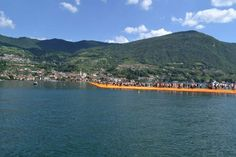 ponte montisola - Iseo - the floating piers by Christo
