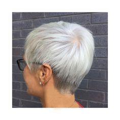 Short Hair. Pixie cut. white. natural colour. Lvl Lashes, Keratin Complex, Hair And Beauty Salon, Pixie Cut, Best Brand, Loreal, Short Hair Styles, Stylists, Colour