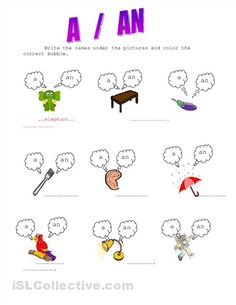 13 best ARTICLES images on Pinterest | Grammar worksheets ...