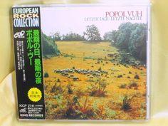 CD/Japan- POPOL VUH Letzte Tage-Latzte Nachte w/OBI RARE EARLY 1994 KICP-2741 #FolkRock