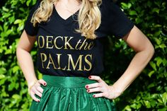 DECK THE PALMS IN #PARTYSKIRTS | Palm Beach Lately