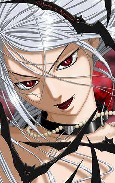 "Moka from manga ""Rosario+Vampire"" in an appearance of the vampire. Anime Ai, Anime Neko, Manga Anime, Manga Girl, Anime Couples Manga, Cute Anime Couples, Anime Girls, Beautiful Anime Girl, I Love Anime"