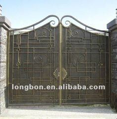 Attractive 2017 Top Selling Newest House Iron Gate Design   Buy House Iron Gate Design,Sliding  Gate Designs For Homes,House Steel Gate Design Product On Alibaba.com
