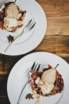 © saschalouise.com / sweetgastronomy.com - Spiced Poached Pears