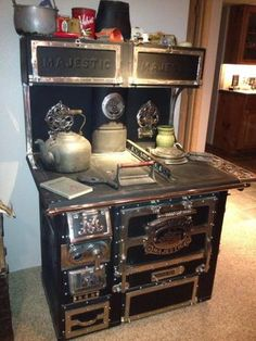 $1,800.00   Antique Wood Stove