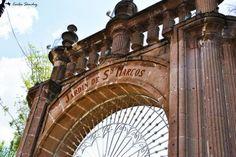 El jardín de San Marcos, uno de los espacios más importantes de la ciudad de Aguascalientes, México.