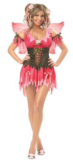 rose fairy costume fairy costumes - Goldilocks Halloween Costumes
