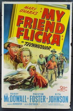 My Friend Flicka and favorite TV show when young!