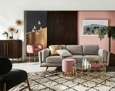 Top 10 picks for ALL sofas on sale at freedom - Katrina Chambers Modular Furniture, Sofa Furniture, Furniture Design, Freedom Furniture, Interior Decorating, Interior Design, Color Interior, Condo Design, French Interior