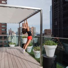 Jasmine Hemsley New York Workout