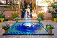 Beautiful majorelle bleu studio marrakesh color has been - Jardin majorelle prix d entree ...