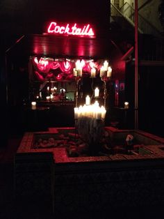"""Haunted Boardner's by Labelle in Los Angeles, CA where I end my Walking Ghost Tour and start my monthly """"Full Moon & Martini's Pub Crawl"""""""