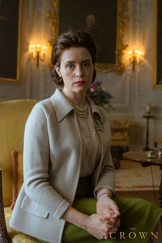 Claire Foy as Queen Elizabeth ll in 'The Crown', The Crown Elizabeth, Queen Elizabeth Ii, Films Netflix, Netflix Series, Tv Series, The Crown 2016, Crown Tv, The Crown Series, Crown Netflix